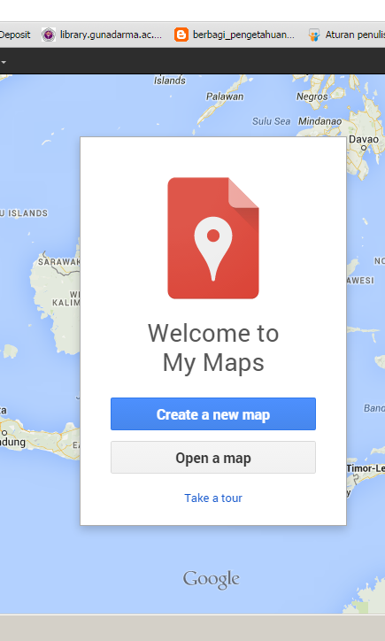 create new maps google maps