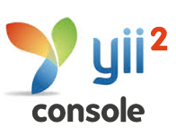 yii2 console