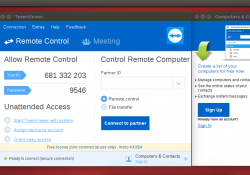 teamviewer 12 opened on ubuntu 16.04